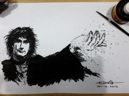 Neil Gaiman as Dream