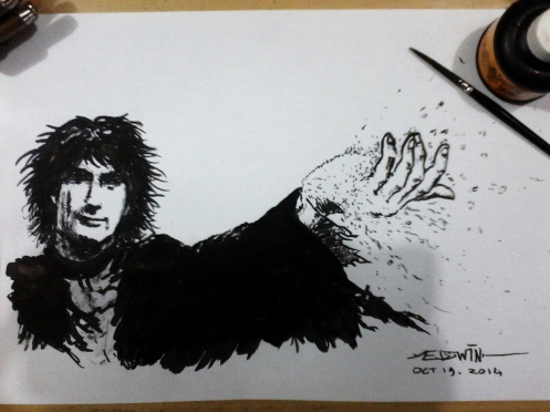 Neil Gaiman as Dream