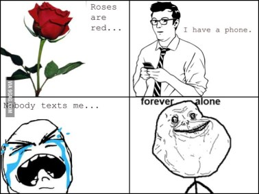 Forever Alone Phone
