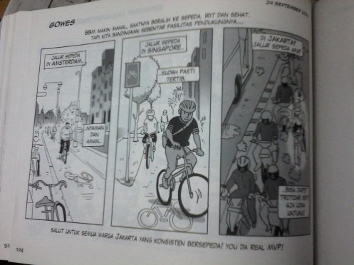 As a man who really loves cycling, I can really feel this page...