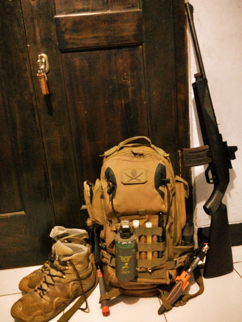 My bug-out bag